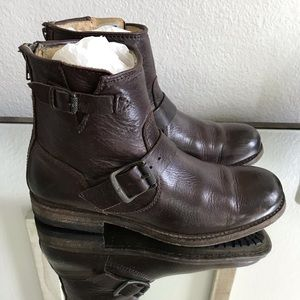 EUC Frye Tyler Engineer Short Boots in Size 6.5